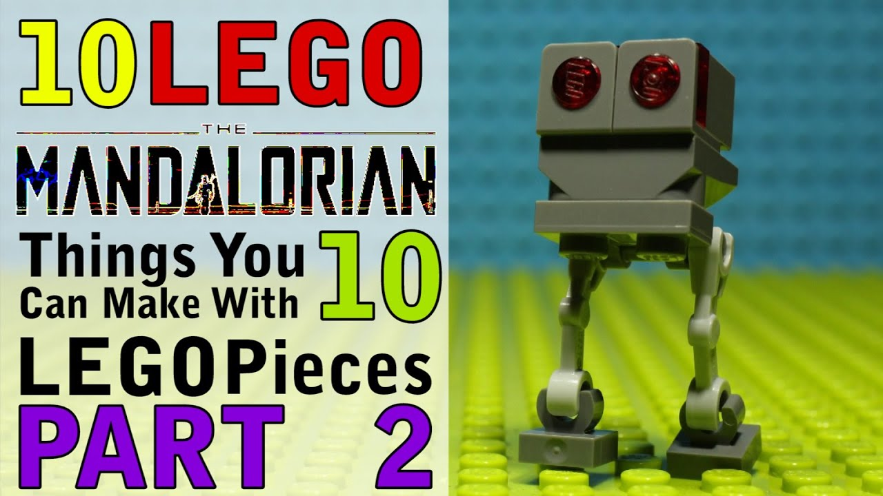 Download 10 Mandalorian Things You Can Make With 10 Lego Pieces Part 2