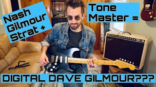 Nash Gilmour Strat + Fender Tone Master Twin Blonde = HOW CLOSE TO DAVE GILMOUR TONE CAN WE GET???