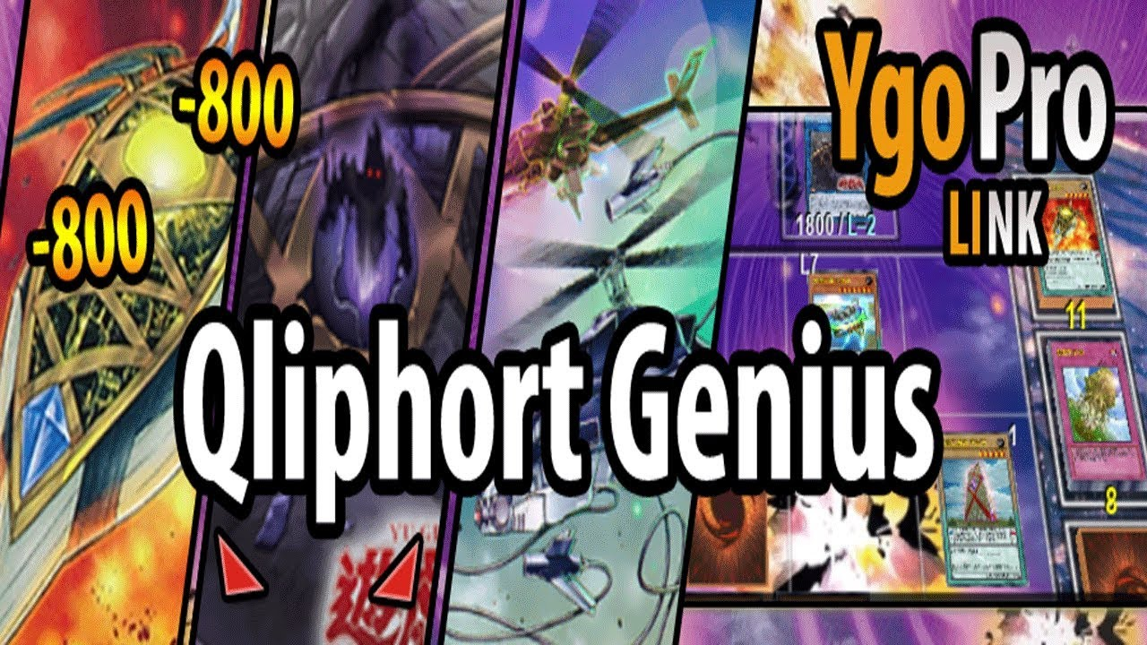 Qliphort Genius is B*STED!! (ft  Qliphorts post Link Vrains - YgoPro)