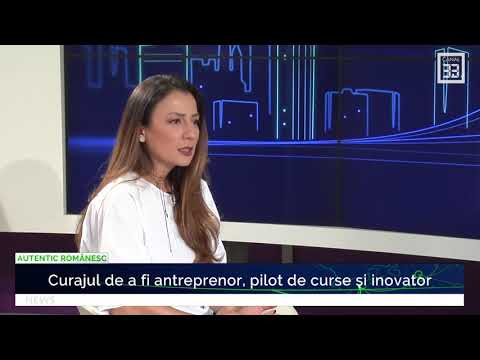 Canal 33 Romania - Mirela Bucovicean: business si experiente personale