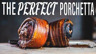 The PERFECT Home Made PORCHETTA - Italian Crispy Pork Roast