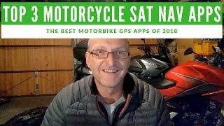 Best Motorcycle Sat Nav Apps - The Top 3 of 2018