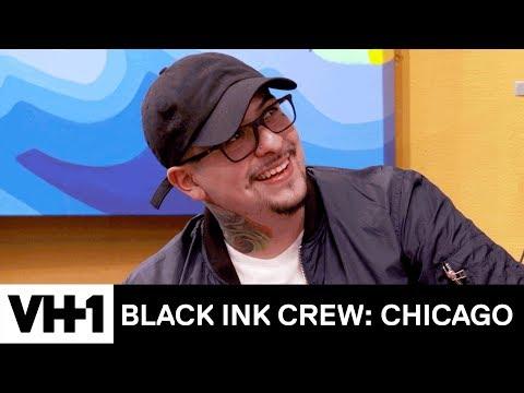 Junior Is Crushing On The New Tattoo Artist 'Sneak Peek' | Black Ink Crew: Chicago