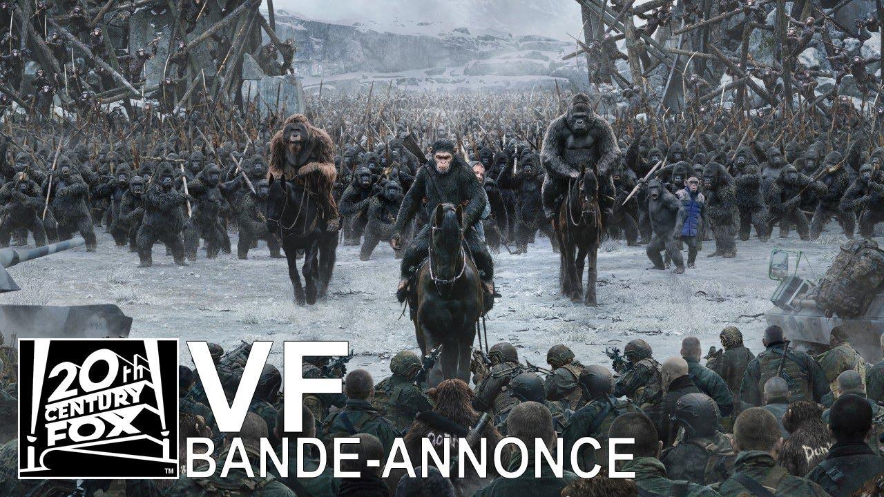 La Guerre de la Planète des Singes VF | Bande-Annonce 2 [HD] | 20th Century FOX