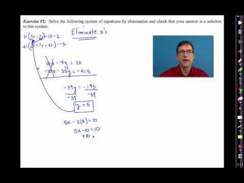 Common Core Algebra I.Unit #5.Lesson #4.The Method of Elimination