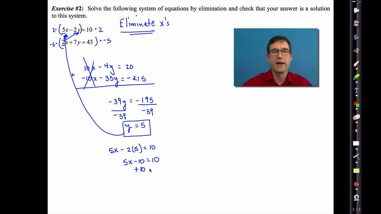 Unit 5 Systems Of Equations Inequalities Worksheet Answers