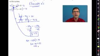Common Core Algebra I.Unit #5.Lesson #4.The Method of Elimination(In this lesson, we following up our previous work by formally introducing the Method of Elimination in solving systems of linear equations. For the worksheet used ..., 2014-07-30T16:37:47.000Z)