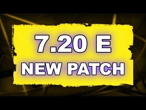 Dota 2 NEW 7.20 E UPDATE - Main Changes! thumbnail