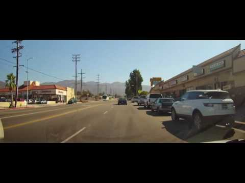 Driving Around Sylmar Neighborhood of Los Angeles to Arco