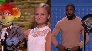 Donald Trump, Preacher Lawson And Puddles DOMINATE AMERICA'S GOT TALENT 2016 | What's Trending Now!