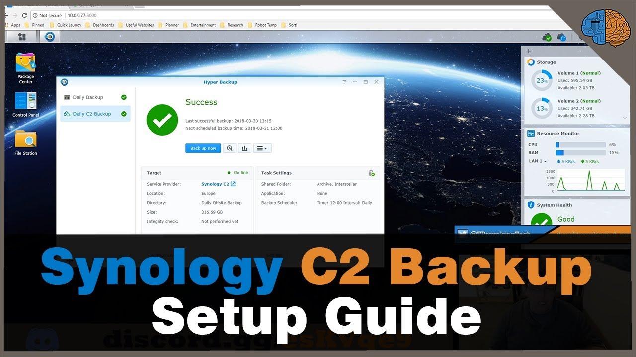 Synology C2 Backup
