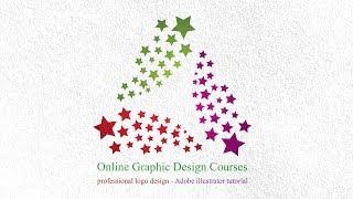 Professional Logo | Adobe illustrator Tutorial | How to Create a Circle Triangle Logo Technique