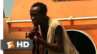 Captain Phillips 2013 - Not Here to Negotiate Scene 810  Movieclips