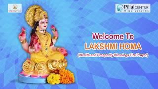 Lakshmi Homam: Fire Prayer for Material Wealth and Abundance