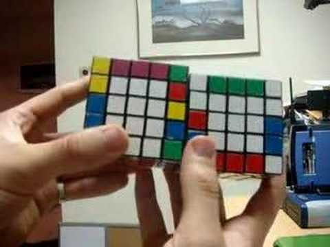 How to Solve a 5x5x5 Rubik's Cube - Part 4 - Parity Errors
