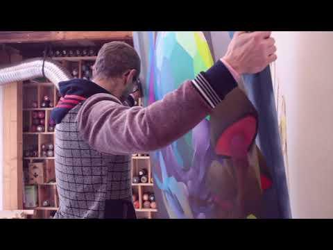 MONTANA-CANS visits German Artist JEROO
