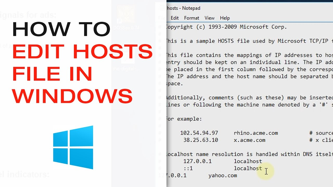 🔴 How to Edit Hosts and other Windows Files That Require Administrator  Privileges