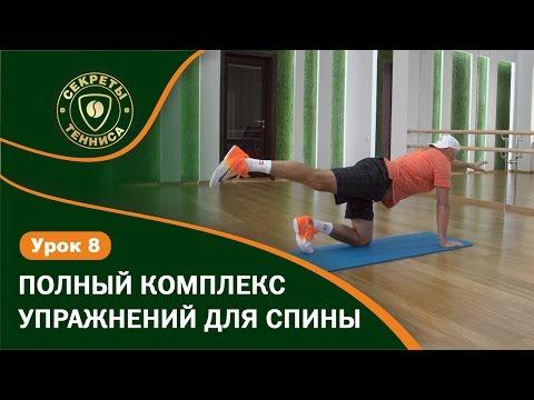 Упражнения для спины. Все упражнения в одном ролике! Упражнения для позвоночника.