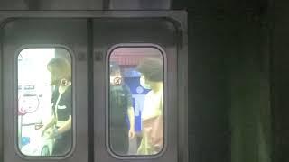 부산도시철도 1호선 다대포해수욕장행 부산역 진입, 부산…
