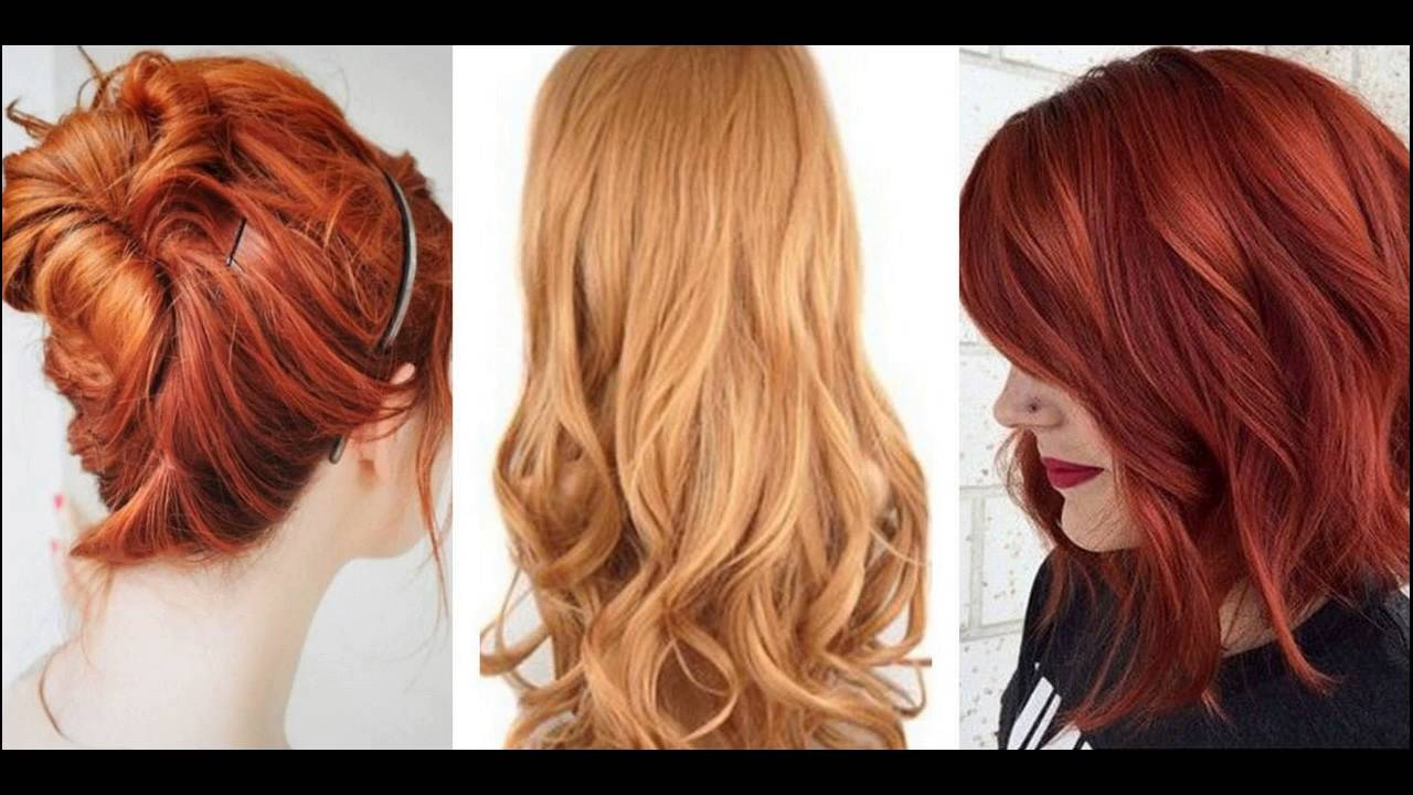 Best Colors For Natural Gingers To Dye Hair