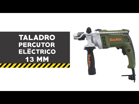 Taladro percutor eléctrico 13 mm 900 W