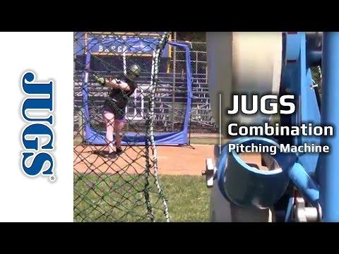 Combination Pitching Machine for Baseball and Softball | JUGS Sports
