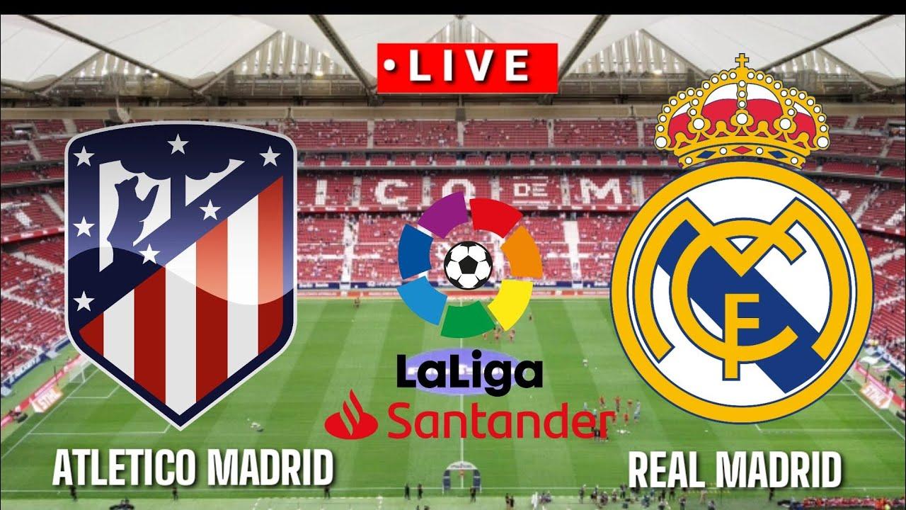 ???? [Trực Tiếp] Atletico Madrid vs Real Madrid La liga  2020/2021  Pes17