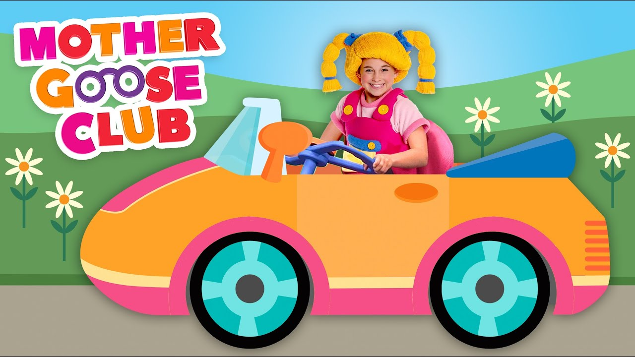 driving in my car mother goose club songs for children youtube