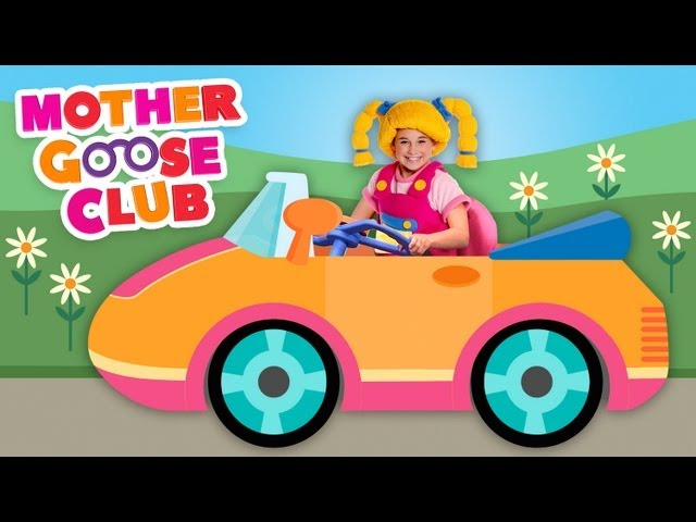 Driving in My Car - Mother Goose Club Songs for Children Travel Video