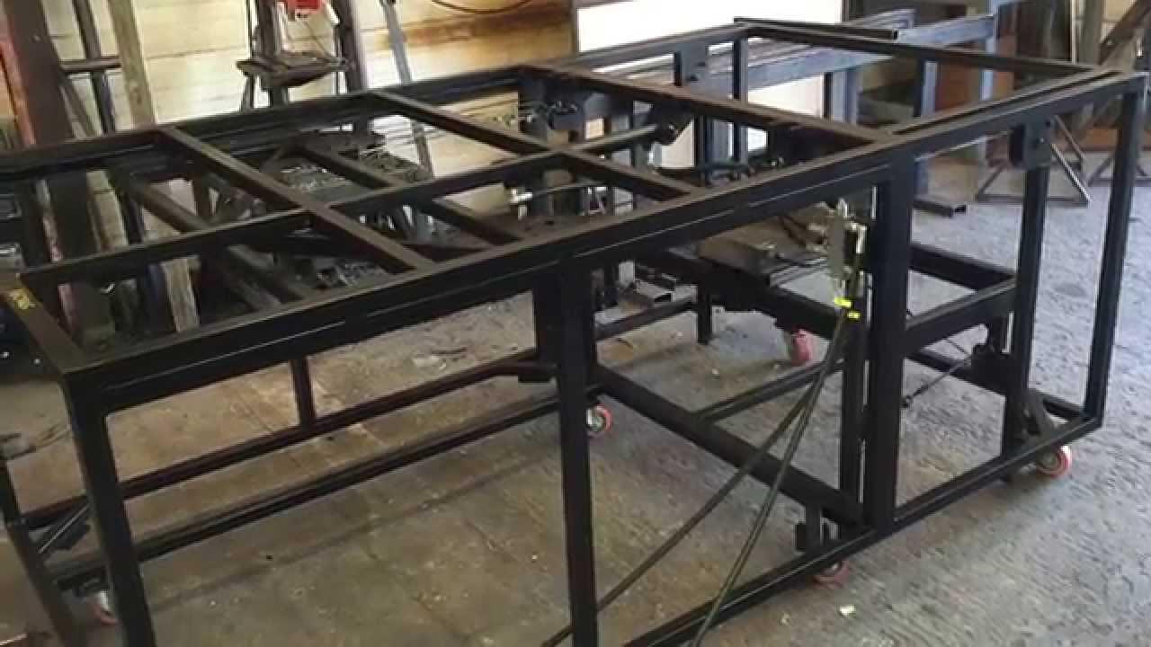 Desk Lift 150kgs Weight Test Youtube