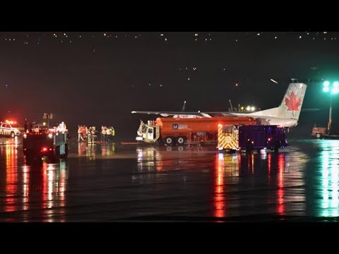 Air Canada plane and fuel tanker truck collide at Pearson