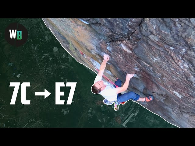 Skipping The Bolts || Sport Climbing on Trad Gear