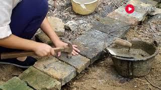 《竹屋建造 上》95后姑娘开垦荒园 独自一人搭建一所竹屋