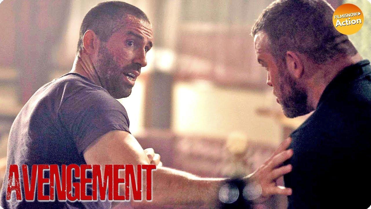 Download AVENGEMENT (2019) SCOTT ADKINS Bar Fight Scene