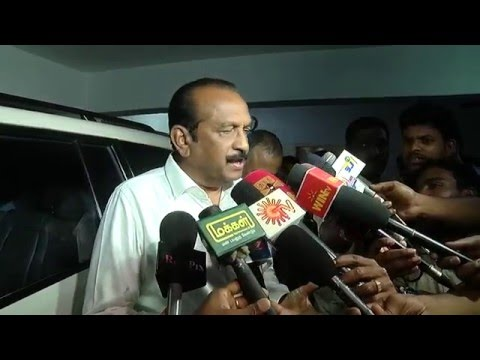 "Karunanidhi Can DO "" That Profession "" Vaiko Open Apology – Must watch"