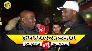 Chelsea 2-2 Arsenal | When Aubameyang Returns, Drop Ozil For Martinelli! (Yardman)