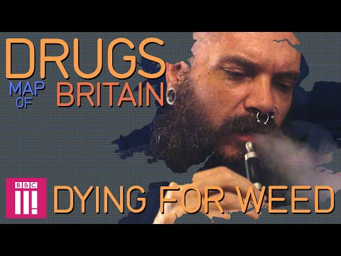 Dying for Weed | Drugs Map of Britain