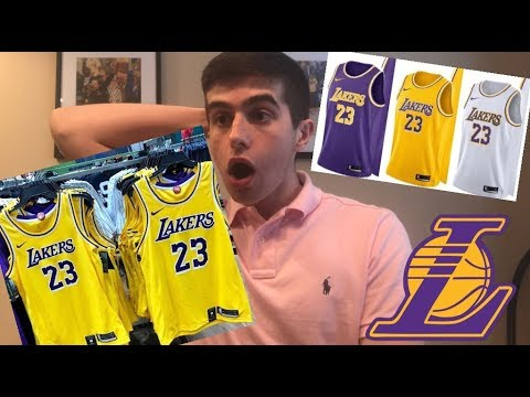 d0cc8d937df NEW LAKERS JERSEYS  LEAKED  REACTION+ FIRST THOUGHTS - YouTube