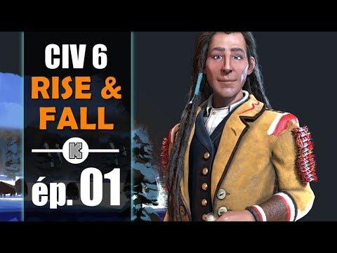 [FR] RISE AND FALL Civilization 6 gameplay : présentation et let's play du DLC – ép 1