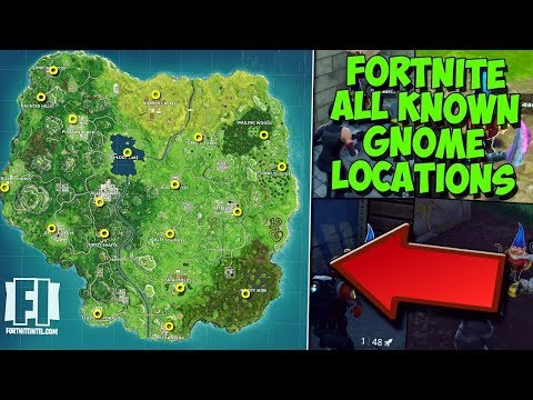 ALL SECRET GNOME LOCATIONS [WEEK 7 CHALLENGE] | Search the HIDDEN GNOME in Different Named Locations