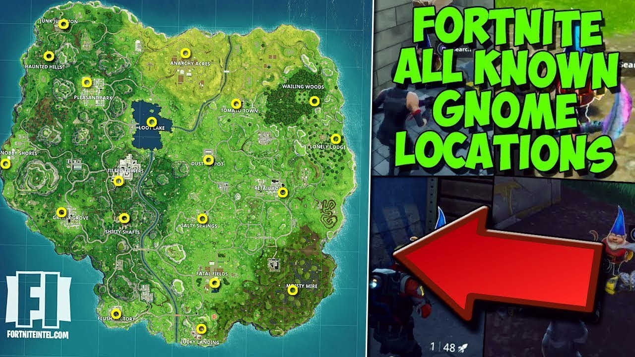 ALL SECRET GNOME LOCATIONS WEEK 7 CHALLENGE Search The