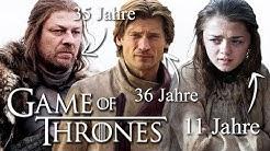 Wie alt sind die Game of Thrones Charaktere in der 1. Staffel?