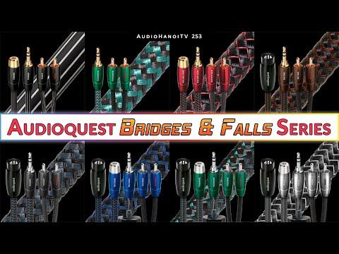 [AudioHanoiTV] Số 253: Review dòng dây tín hiệu AudioQuest Bridges & Falls