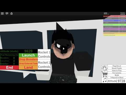 ROBLOX Rocket Tester Part 4  Hubble Space Telescope and How to Dock a Manned Spacecraft