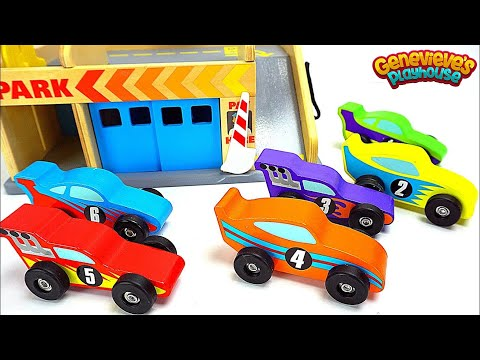 Best Learning Video For Kids: Play with Toy Cars for Kids! Learn Colors Counting with Genevieve!