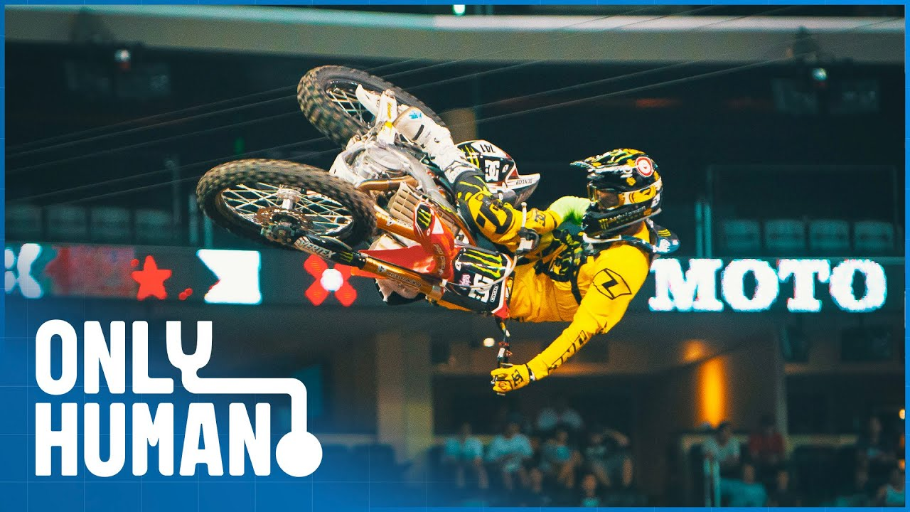 Nate Adams: King of Freestyle Motocross | Motivated | Only Human