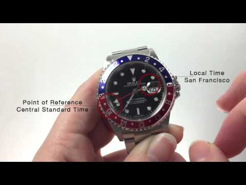 How to Use the GMT-Master II: Reading Multiple Time Zones
