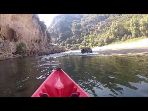 Canoé Kayak à Vallon Pont d'Arc
