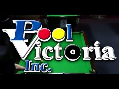 Pool Victoria State Singles Title 2014