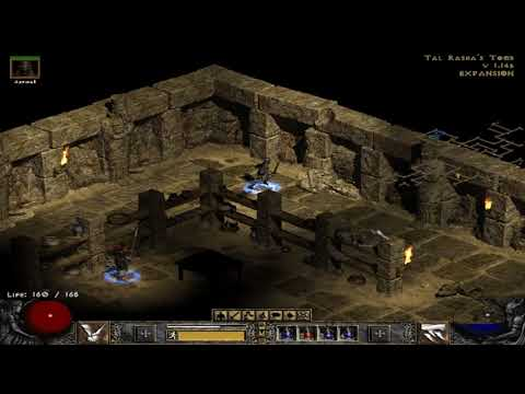 Diablo II  Lord of Destruction in search of  tal rashas tomb part 2